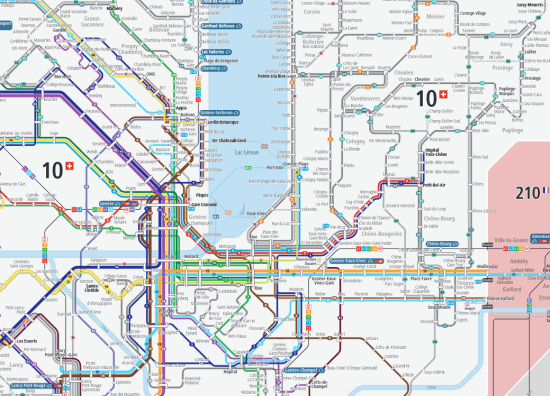 TPG network map