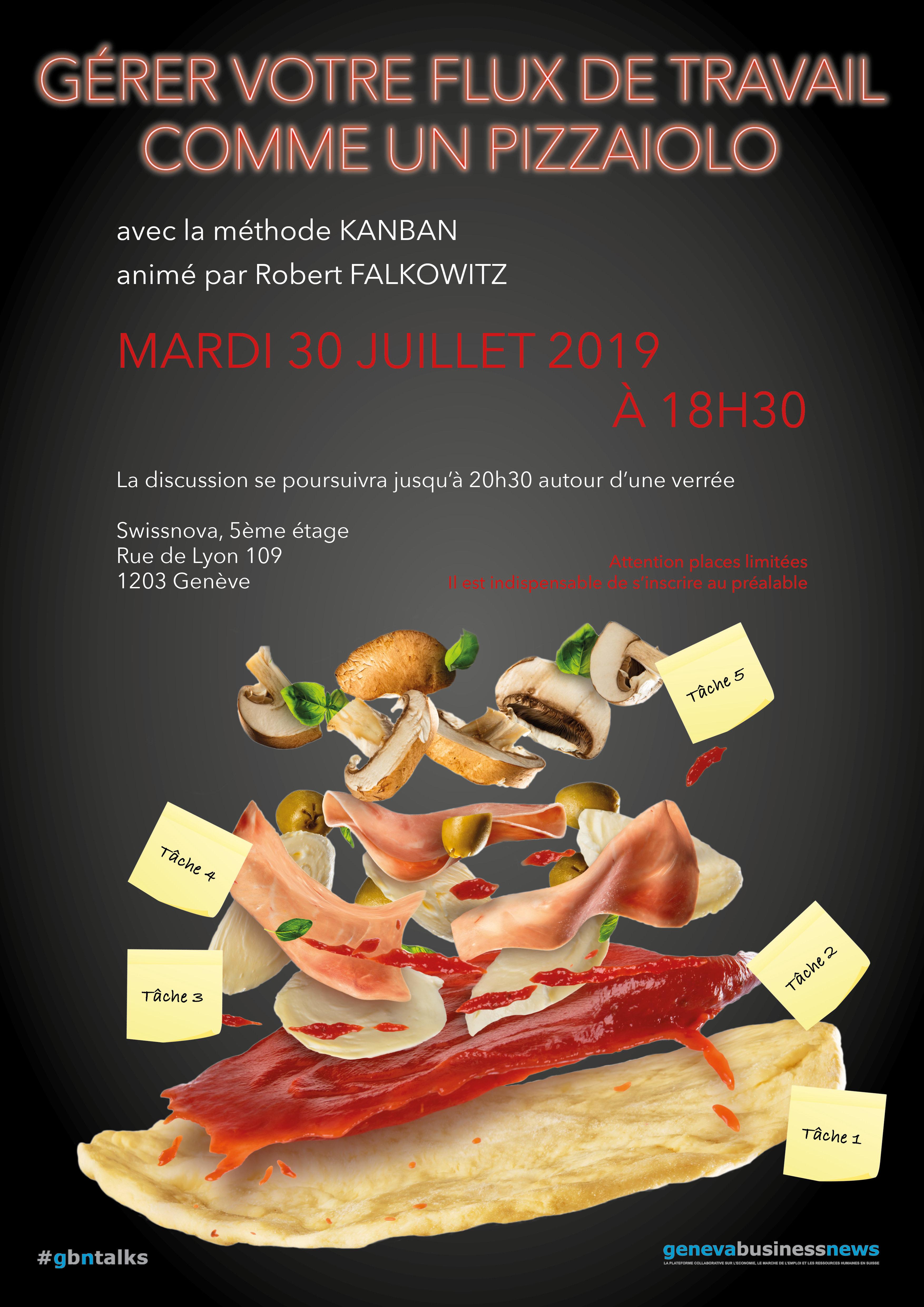 Kanban pizza game