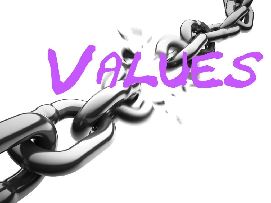 Values trump controls
